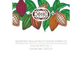 Cover Quarterly Bulletin of Cocoa Statistics February 2021